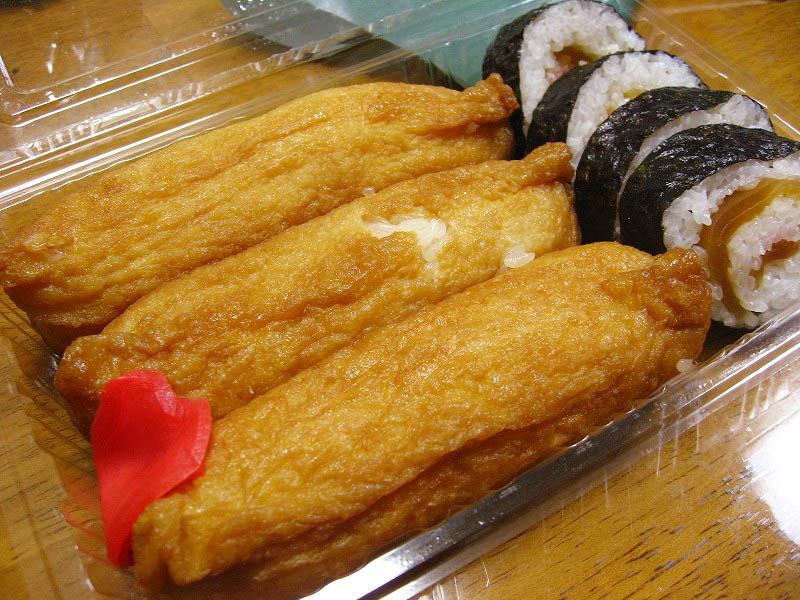 熊谷市妻沼「聖天寿し」のいなり寿司