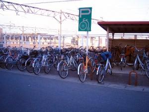 籠原駅 自転車置き場 駐輪場