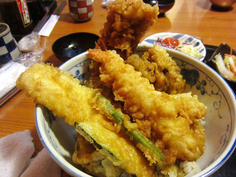 深谷市国済寺「いっちょう」のビックリ天丼
