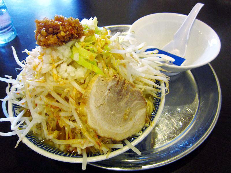 熊谷市代「大勝軒 赤ふじ」の角ふじ麺味噌