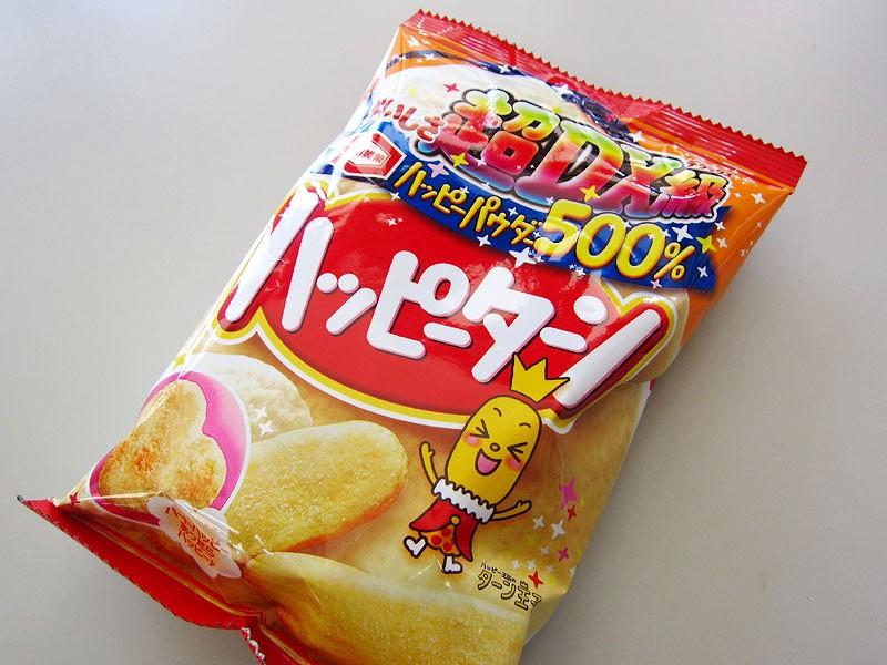 驚愕のインフレ菓子!ハッピーターン500%