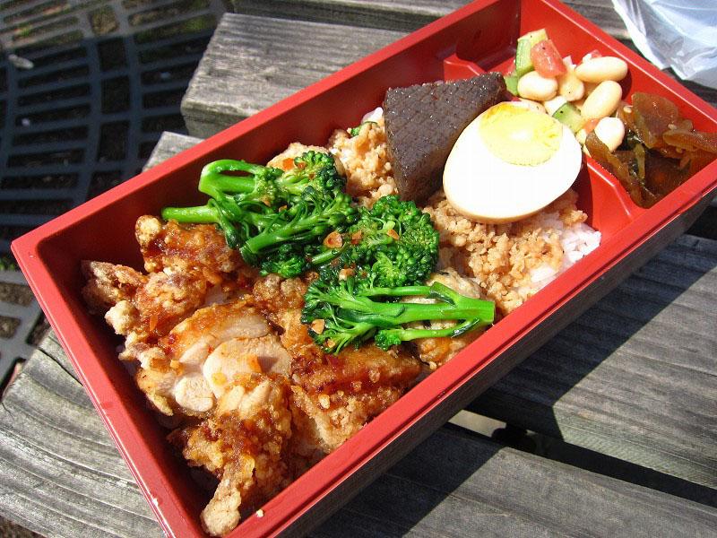 深谷市上野台「ホームメイドランチ ひまわり」のふっかちゃん弁当とひまわり弁当