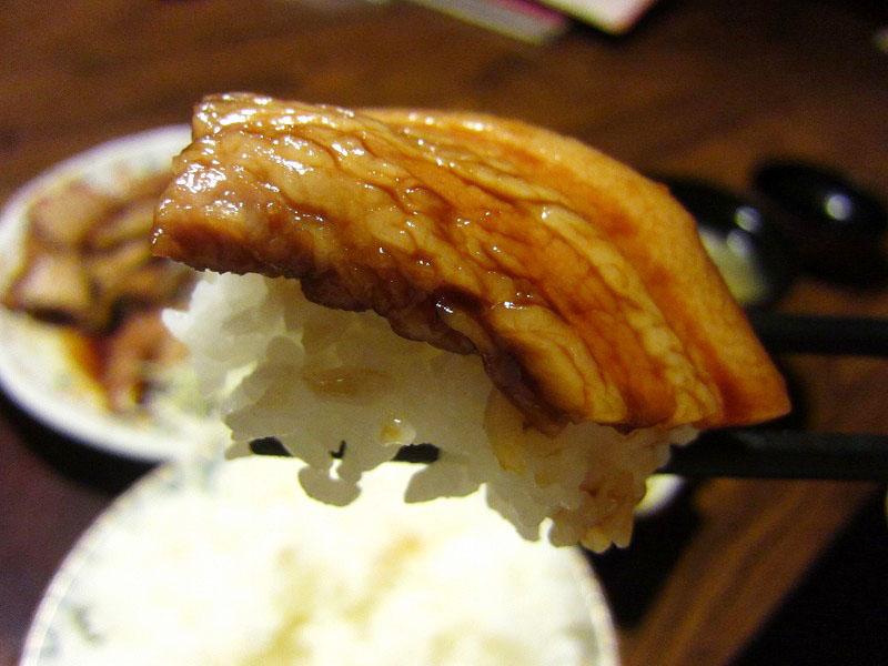 深谷市国済寺「いっちょう」の豚焼肉でかランチ