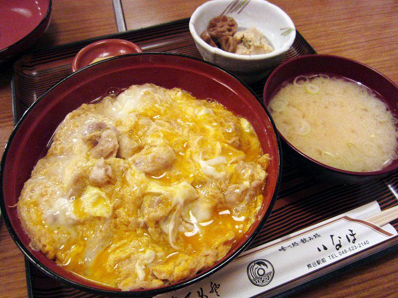 熊谷市筑波2「いなほ」のスプーンで喰べる元祖親子丼