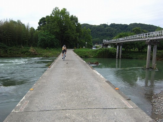 自転車で行く!ときがわ町「雀川砂防ダム公園」の紫陽花 その1