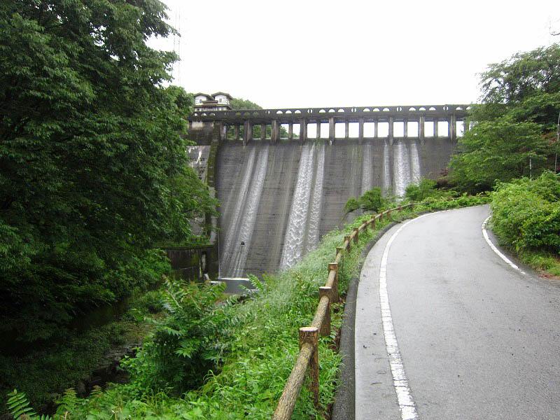自転車で行く!本庄市児玉町小平「間瀬ダム」と「ふくろや」のすまんじゅう