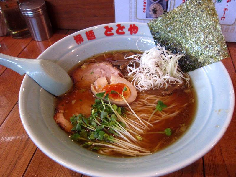 前橋市上泉町「柳麺ととや」のととやめん