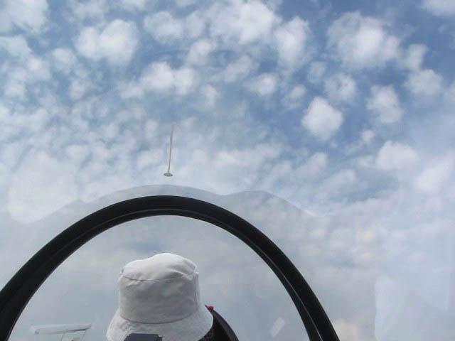 熊谷市葛和田「妻沼グライダー滑空場」の県民グライダー搭乗会 中編