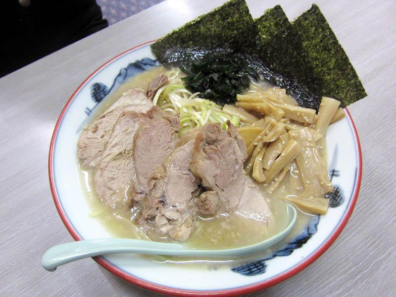 加須市鴻茎「ラーメンショップ 122号騎西店」のネギ塩メンマチャーシューメン