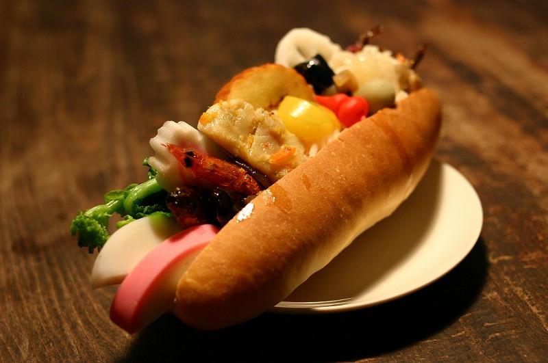 行田市行田「翠玉堂」のおせちパン2013