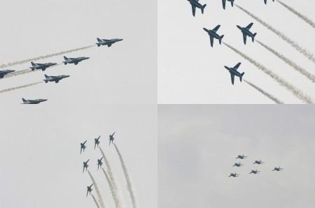 2010年:航空自衛隊熊谷基地さくら祭り