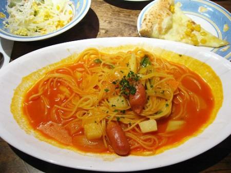 熊谷市小島「ナポリの食卓」のランチセット