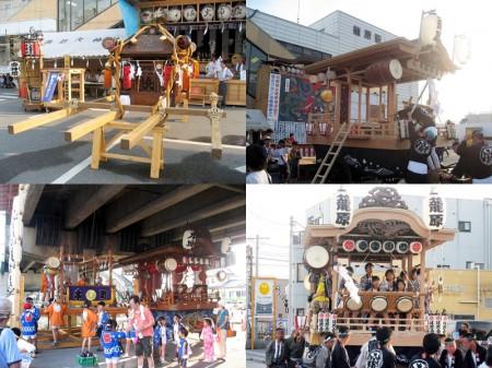 2010年 籠原夏祭り「八坂祭り 宵宮」