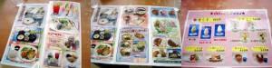 熊谷市弥藤吾道の駅めぬま内「サラダ館」のむぎとろ定食とかき揚げ丼