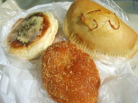 熊谷市代ビッグベアー内「モングルメ」のパン
