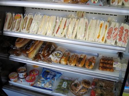 深谷市仲町2丁目「富士屋」のサンドイッチ