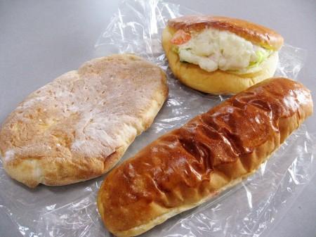 熊谷市宮町2丁目「コッペリア」のパン