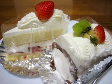 深谷市上野台「ラ・パレット」のケーキ