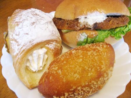 熊谷市宮前町「パリス」のパン