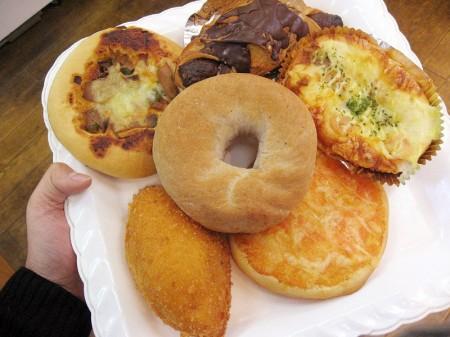 深谷市東大沼「パン工房 サパン」のパン