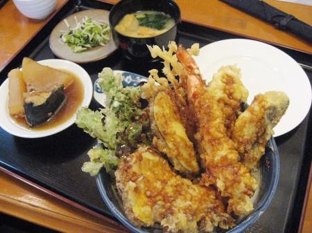 熊谷市中央2丁目「あぶり庵」の天丼