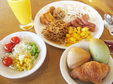 熊谷市石原「cocos熊谷店」の朝食バイキング 再び