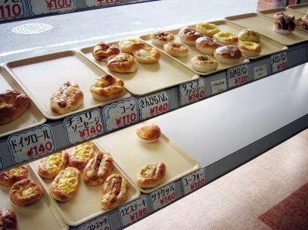 熊谷市桜木町1丁目「サントノーレ キムラヤ」のパン
