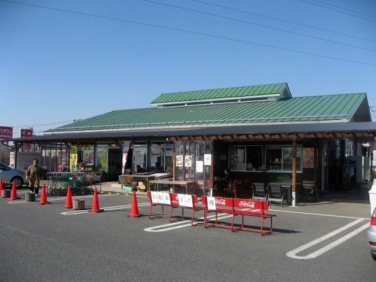 栃木県佐野市植下町「食と花の駅アグリタウン」のいもフライと焼きそばと買い物