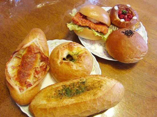 深谷市上柴町東7丁目「パン・デ・パパ」のパン