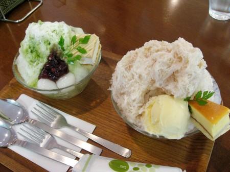 熊谷市筑波3ティアラ21内「萬里茶房」の雪くま 2010