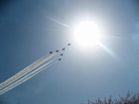 明日は航空自衛隊熊谷基地のさくら祭り