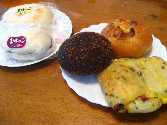 熊谷市拾六間「パーネ デリシア」のパン