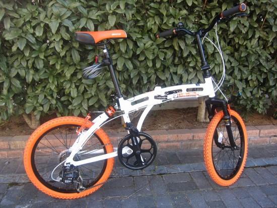 折りたたみ自転車「ドッペルギャンガー 215」を買ってみた