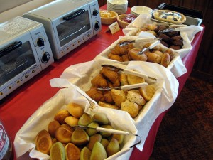 熊谷市石原「cocos熊谷店」の朝食バイキング
