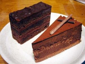 熊谷市筑波3丁目「chocolatier anouk」のムース・ショコラ