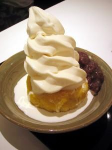 菖蒲町モラージュ菖蒲「麻布茶房」のクリームスイートポテト