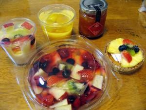 熊谷市拾六間「FRUIT PLANT」のフルーツとお菓子