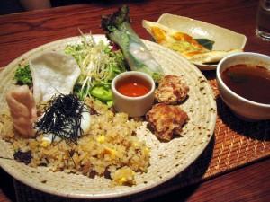 熊谷市肥塚4「茶屋 草木万里野」のアジアンディッシュ