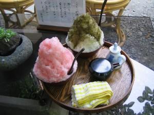 皆野町大字金崎「阿左美冷蔵」のカキ氷
