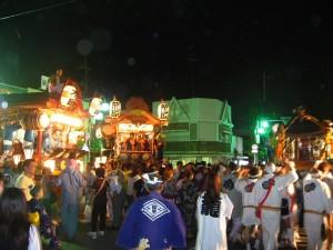 籠原夏祭り:初日