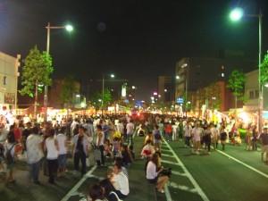 行ってきました、熊谷うちわ祭り