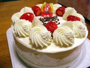 熊谷市新堀「シノン洋菓子店」のケーキ