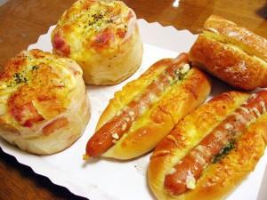 熊谷市拾六間とりせん内「ガレット」のパン