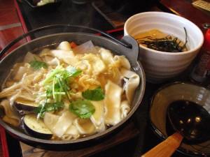 深谷市国済寺「舎楽」の煮ぼうとう