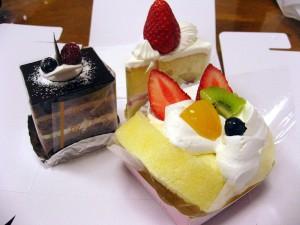 熊谷市広瀬「サンドリヨン」のケーキ