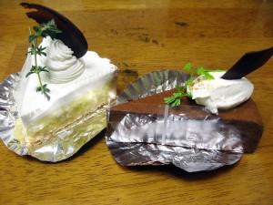 本庄市緑「アリエネー」のケーキ