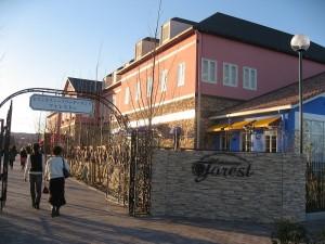 深谷市小前田花園フォレスト内「ブール・ド・ネージュ」のソフトクリーム
