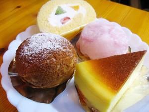 熊谷市肥塚「ナチュラテール」のケーキ