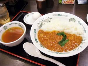 横須賀中央「日高屋」の温玉うまから丼