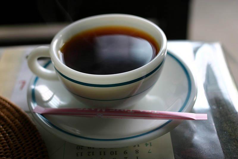 熊谷市妻沼「まっち珈琲」の本日の珈琲とおやつちょっと